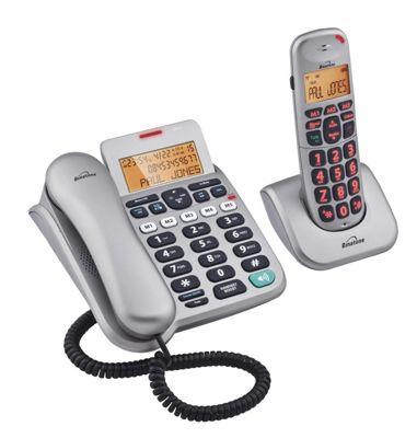 Binatone Speakeasy 3865 Combo Telephone - Silver