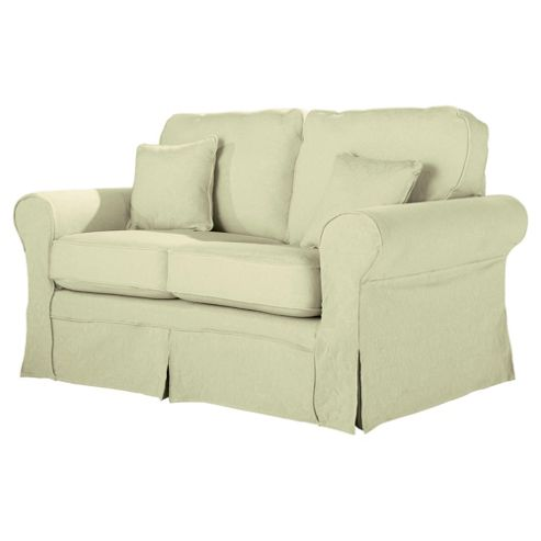 Louisa Loose Cover Only for Small Sofa Jaquard, Cream