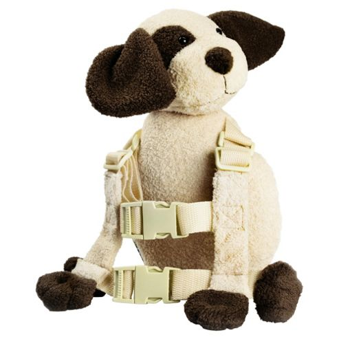Goldbug Harness Buddy, Ivory Dog