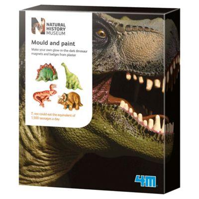 Natural History Museum Mould & Paint Dinosaur