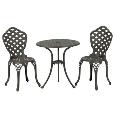 Eclipse Cast Aluminium Bistro Set