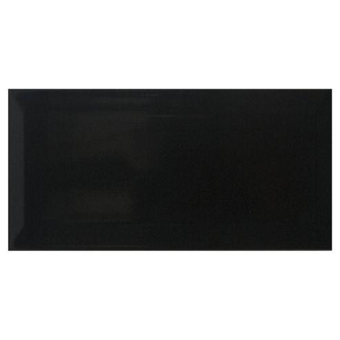 Metro Black Tile (20x10cm)