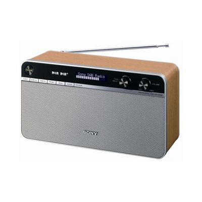 buy sony xdr s16dbp dab dab digital radio from our portable radio range tesco. Black Bedroom Furniture Sets. Home Design Ideas