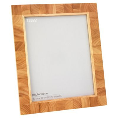 Tesco Light Wood Block Frame 8x10