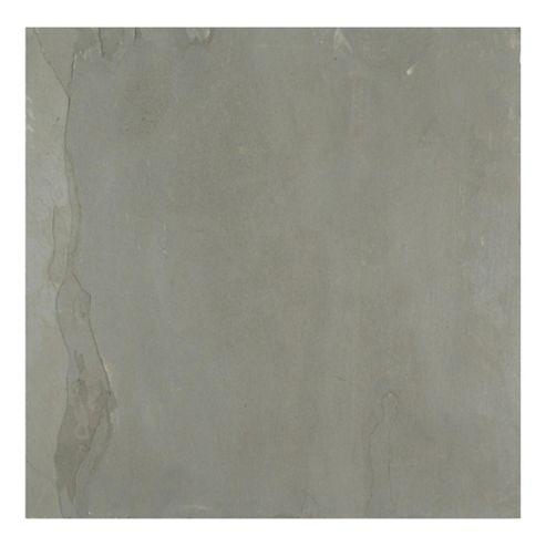 Natural Slate Tile (30X30Cm) Slate Black