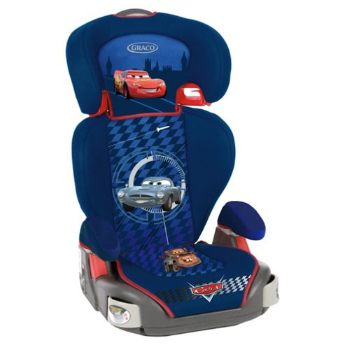 Graco Junior Maxi Car Seat, Group 2-3, Disney Cars 2