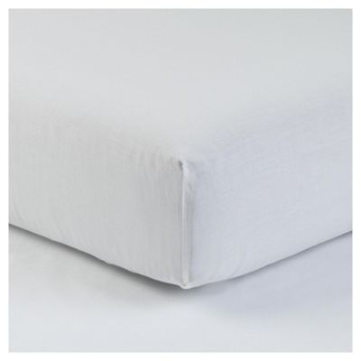 Kingsize Deep Fitted Sheet - White