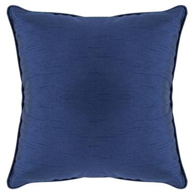 Tesco Set Of 2 Faux Silk Cushions, Navy