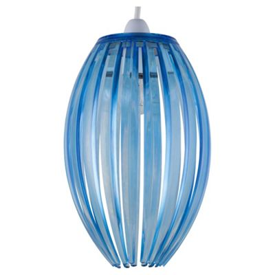 Tesco Lighting Marti Nonelec Acrylic Pendant Blue