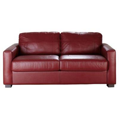 Tesco red leather sofa bed refil sofa for Sofa bed tesco