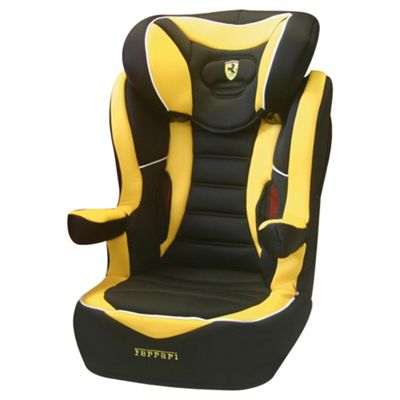 R Way Ferrari Car Seat, Group 2-3, Yellow