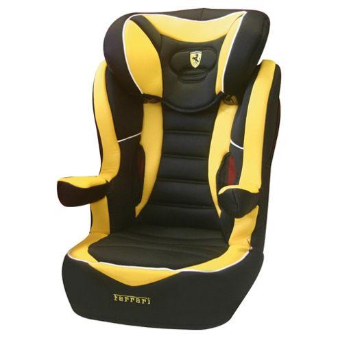 R Way Ferrari Car Seat, Group 2-3, Yellow
