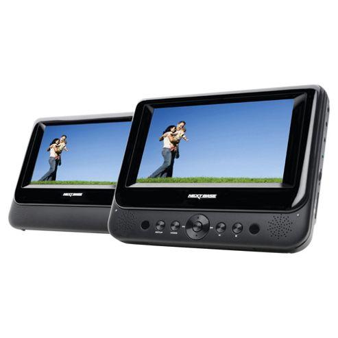 NEXTBASE SDV48AM 7 Inch Twin Screen Portable DVD Player