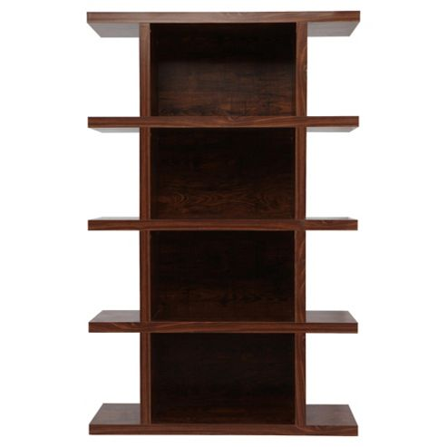 Torino Tall Shelving Unit, Mango-Effect