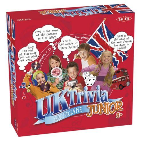 UK Trivia Junior Board Game