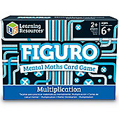 Learning Resources Figuro Multiplication Card Game