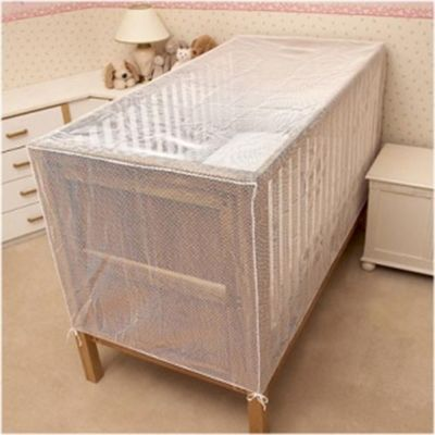 Cot Bed Cat Net - 150 x 75 x 75cm, White