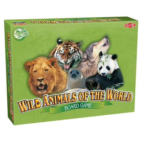 Wild Animals Of The World Board Game