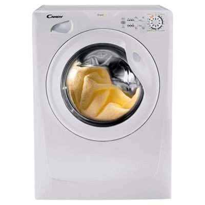 Candy GOF822 Washing Machine, 8kg Wash Load, 1200 RPM Spin, A+ Energy Rating. White