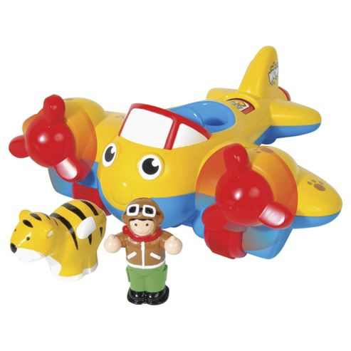 WOW Toys Johnny Jungle Plane Toy Vehicle