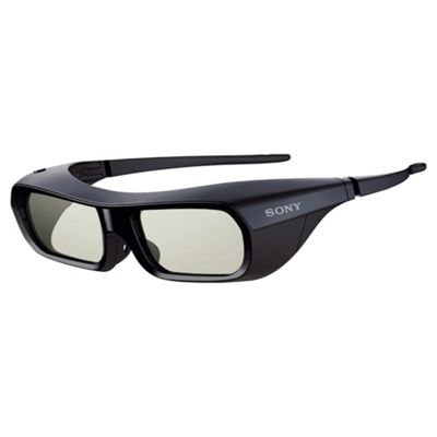 1 x Sony TDG-BR250/R 3D Glasses Black