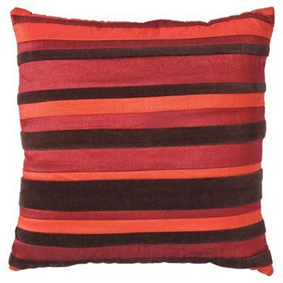 F&F Home stripe cushion, red