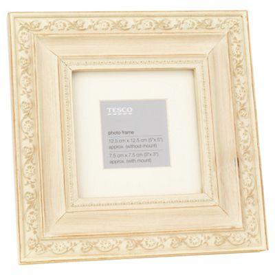 Tesco distressed profile frame, 5x5