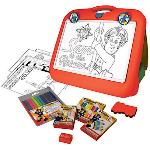 Fireman Sam Travel Art Easel