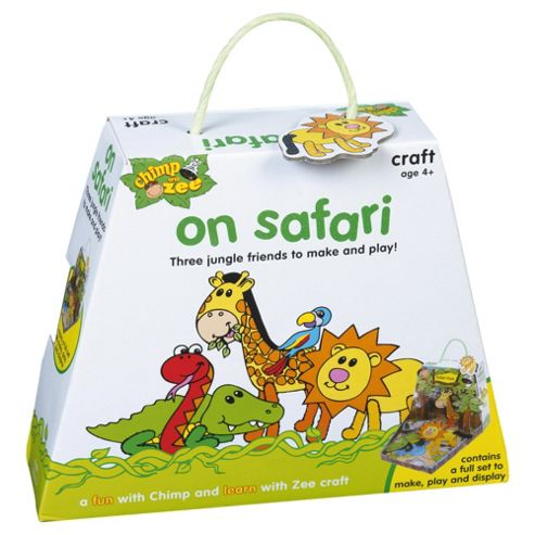 Chimp and Zee On Safari Craft Activity Set