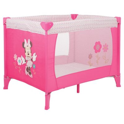 Disney Minnie Travel Cot, Pink