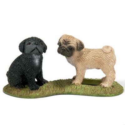 Schleich Pug Puppies