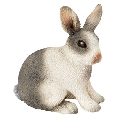 Schleich Rabbit, Sitting
