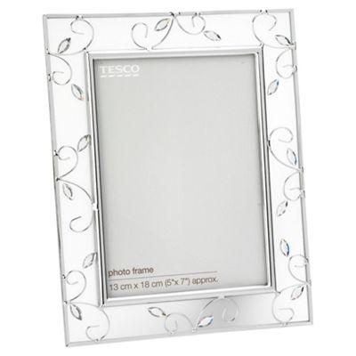 Tesco Metal Jewel Frame 13x18cm / 5x7