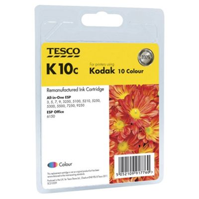 Tesco K10 Printer Ink Cartridge Colour