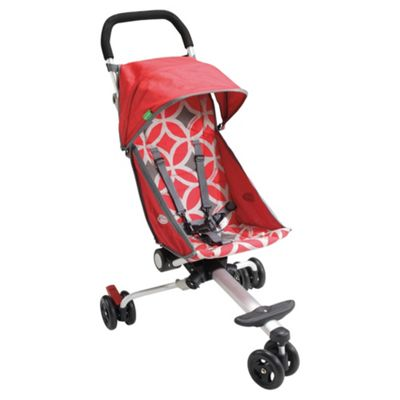 Back Pack 3 Wheeler Pushchair, Red