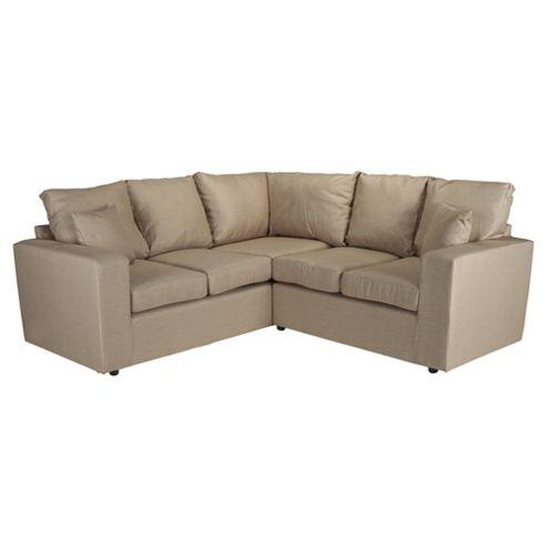 Maison Fabric Corner Sofa Linen