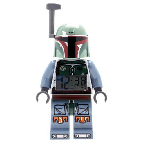 LEGO Star Wars Boba Fett Figure Clock