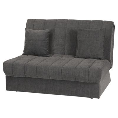 Morton Fabric Double Sofa Bed, 2 Seater Sofa Charcoal