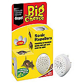 The Big Cheese Sonic Repeller 3 pk