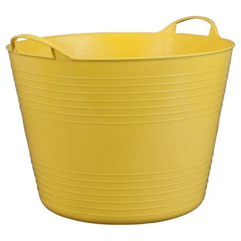 Tesco flexi tub, yellow
