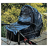 Universal Pram / Carrycot Rain Cover, Large Size, Transparent