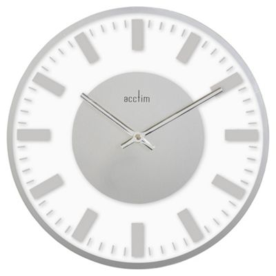 Acctim Glass Wall Clock