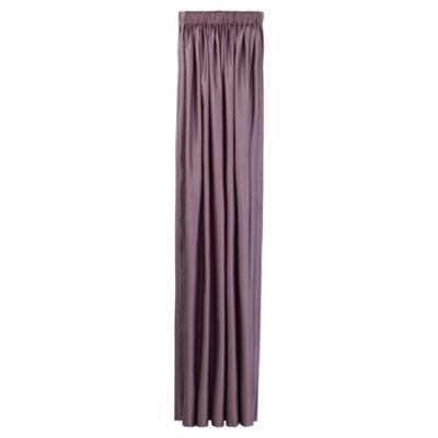 Tesco Faux Silk Lined pencil pleat Curtains W162xL137cm (64x54