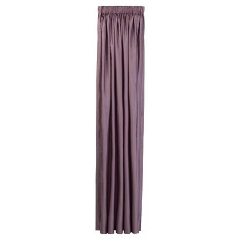 Tesco Faux Silk Lined pencil pleat Curtains W162xL137cm (64x54