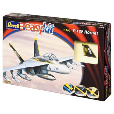Revell Easykit F-18F Hornet 1:100 Scale Model Set