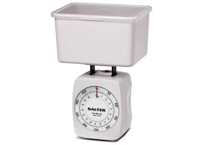 Salter Kitchen Scale, White