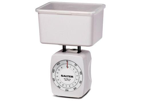 Salter Kitchen Scale, White