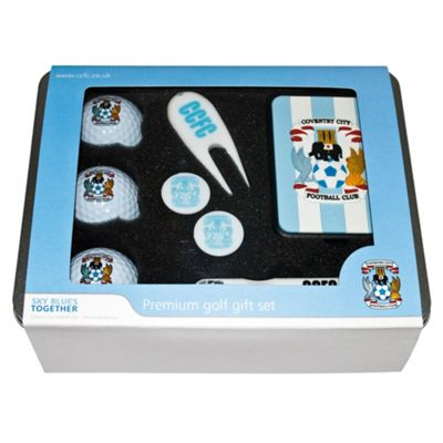 Coventry City Premium Golf Tin Set