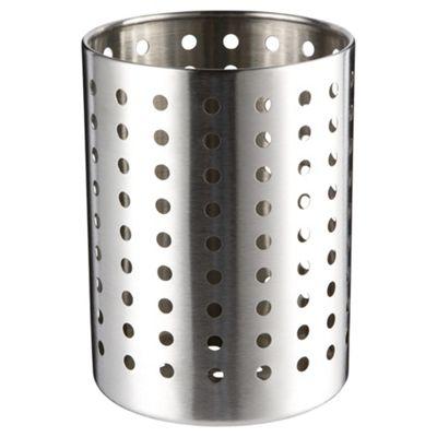 Tesco Stainless Steel Utensils Holder