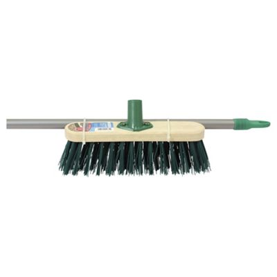 Outdoor Stiff PVC Broom